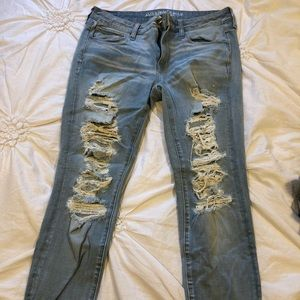 American Eangle Ripped Jeans.